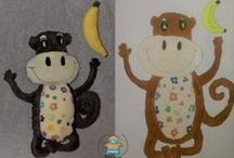 Toys from pictures / how it works? Your child draw a picture  -  I create a toy