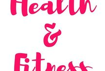 HEALTH AND FITNESS / Workout ideas, cute gym gear, healthy recipes. Anything that's meant to help you get and stay in shape! Healthy living ideas so you overall wellbeing is the best it can be.