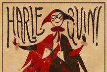 Harlequin & Masquerade / All harlequin and cute stuff