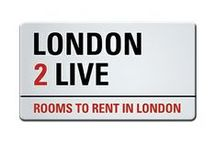 Our Rooms in London / We rent rooms in London in zone 1, 2 or 3.  We offer single, double or room to share. Weekly rent ALL INCLUSIVE, only two weeks of deposit and booking fee.   www.london2live.com