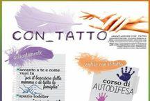 Associazione Con_tatto / Sviluppiamo attività per favorire il benessere di persone, coppie, famiglie e gruppi in un'ottica bio-psico-sociale. www.associazionecontatto.altervista.org