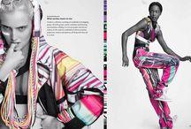 DPS Fashion Prints / Carly Ellis Graduation Collection, a favorite DPS project! ...& more!