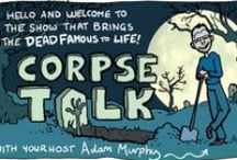 CorpseTalk / A sneak peek of CorpseTalk, the comic book TV show where I dig up a dead famous person and interview their re-animated corpse. You can read the full comic each week in The Phoenix. https://www.thephoenixcomic.co.uk/