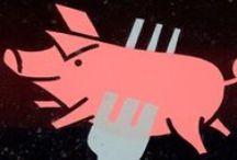 Løse opskrifter gris på gaflen / Løse opskrifter gris på gaflen