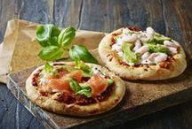 Pizza     dansk tekst / Pizza  og