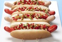 Hot dog.   dansk tekst / Hot dog.  dansk tekst