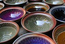 Pottery    ( bowls )