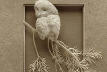 Art   ( Paper sculptures )