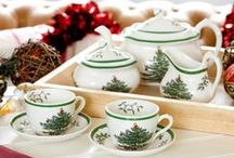 Christmas Tree / Loved for its nostalgia and warm recollections of Christmases past, Christmas Tree from Spode has been gracing our dinner tables for 75 years. Hailed as one of the world's most loved tableware designs, Christmas Tree has been bringing joy and cheer to festive family homes since 1938. #ChristmasTree #Spode
