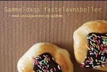 Fastelavnsboller  dansk tekst / Fastelavnsboller  sød bolle der spises i tiden omkring fastelavn; har ofte fyld i form af creme eller flødeskum