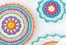 Crochet Mandala / Mandalas de Crochet/Ganchillo
