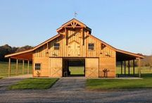 Yards and Stables / Beautiful Barns