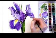 Art    ( Watercolor tutorials by Anna Mason  )