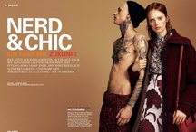 GLAMOUR Magazine Deutschland || September 2012 || Nerd & Chic