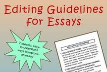 Essay Writing for High School and College / This board is for resources related to teaching essay writing in grades 9, 10, 11, 12, college, and university. Please PIN ONE FREE NON-TPT ITEM FOR EACH PAID ONE. Indicate which items are paid with a $.  PLEASE PIN IN MODERATION AND REMOVE OLDER PINS BEFORE ADDING NEW ONES OF THE SAME PRODUCT. Thanks!