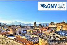 Destination - Palermo (Sicily) / Grandi Navi Veloci operates 4 routes to Palermo: Genoa - Palermo Rome Civitavecchia- Palermo Naples - Palermo Palermo-Tunis