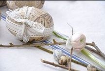 My Easter / Easter, table setting, Easter eggs, flowers