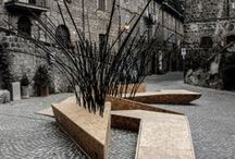 small architecture / buildings constructions garden/street futniture