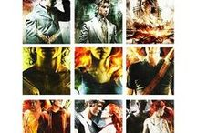 Shadowhunter Chronicles / Mortal Instruments, Infernal Devices, and many more.