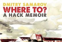 """WHERE TO?"" by Dmitry Samarov / An upcoming novel with illustrations from our fall 2014 catalogue."