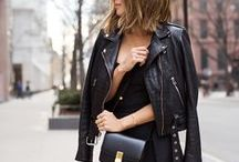 HUMANIC • back to black / casual outfits in black