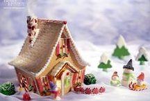 Gingerbread пряничные домики