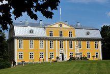 Kartanoita. Finnish mansion houses. Honkola
