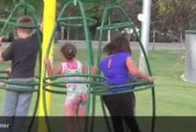 Playgrounds - Wild &Wooly Fun / Playgrounds for kids and adults. Some are wild and some are perfect for kids. Playground designs that work. Plus some Playground Safety.