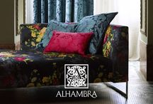 Alhambra / The Designer's Resource Centre proudly features fabric products from Alhambra.