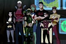 young justice - justice league