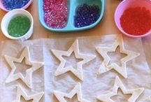 Made of salt dough
