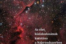 """Az élet kialakulása, asztrobiológia, meteoritok, kisbolybók, üstökösök ...              The emergence of life, astrobiology, meteorites, asteroids, comets ... / A Földre érkező vízjég alapú üstökösök a vízkészletet gyarapították. Egyes feltételezések szerint ezek aminosavak formájában a víz mellett az élet csíráit is magukban hordozták. Ingyenesen letölthető a teljes anyag pdf-ben a Magyar Elektronikus Könyvtárból, http://mek.oszk.hu/13200/13212 """"Az élet kialakulásának kutatása a Naprendszerben"""""""