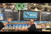 MCM YouTube Videos / Various videos of MCM Electronics events and products! / by MCM Electronics