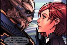 "Mass effect arts ❤ / ""Go out there, and give them hell. You were born to do this!"""