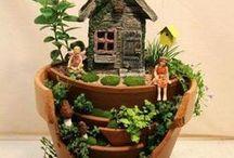 Gardening (broken pots)