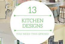 Spring Kitchen Interior Ideas.