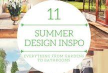 Summer Interior Design Inspiration