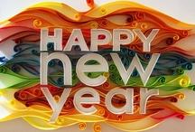 Happy New Year! Szczęśliwego nowego roku! / Nasza tablica noworoczna pełna jest inspiracji! Skorzystaj z nich w naszym konkursie Facebookowym! http://blogpartykiosk.pl/zabawy/mamy-dla-was-facebookowy-konkurs/