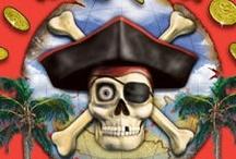 Pirate Party! / Zabawa urodzinowa w pirackim stylu? Pokochają ją nie tylko chłopcy, ale także lubiące przygody dziewczynki!