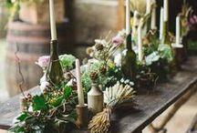 Blumendeko / Eine Sammlung verschiedener Blumendeko für alle Jahreszeiten.