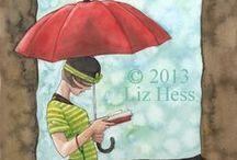 Brollys  ~  n.  2  ~  Art  ** / I'm Singing  in  the Rain   ** / by Livy....**