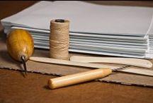 PAPER bookbinding tools