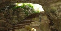 Caves (Grotten) / Entries, insides and gorgeous exits, some imaginary