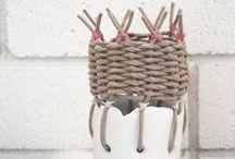 MATERIAL basket weave