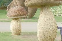Weidenkunst / Weiden flechten, Weidenskulpturen und Weiden im Garten