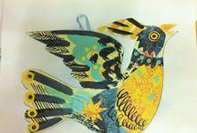 Year 7 - Patterned birds / by Emma Robertson