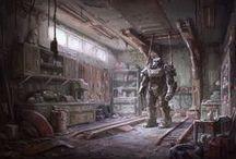 Fallout Artworks / Community Artworks or Concept Art from Fallout 3 Fallout New Vegas and Fallout 4
