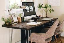 Home Offices / Um lugar bonito para ler, estudar e criar