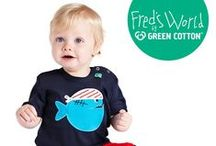Fred's World by Green Cotton - Lillahopp / Fred's World by Green Cotton is an eco-friendly kid's clothing brand from Denmark. Fred is the name of the little green frog, their mascot, who makes an appearance on all of their products.  - available at Lillahopp.com