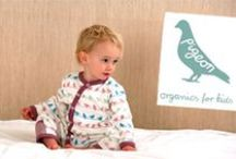 Pigeon Organics - Lillahopp / Organic kid's fashion from the UK. Great patterns! Available at Lillahopp.